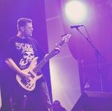 旷野恐惧症的鼻出血金属带生活音乐会2016年, 库存图片