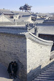 旺斯庭院 免版税图库摄影