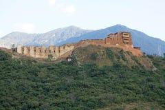 旺杜波德朗Dzong,不丹 库存照片