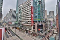 旺角在九龙,香港 图库摄影