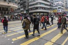 旺角邻里在香港 库存图片