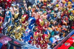旺角,香港- 2018年1月11日:玩具在夫人的ma商店 免版税库存图片