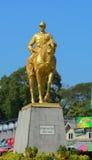 昂山将军的纪念碑 库存照片
