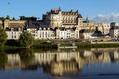 昂布瓦斯城堡 免版税库存图片
