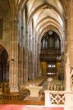 昂德洛教会,法国 7月09日2009年法国 库存照片