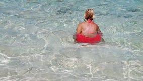 昂斯市马伦海滩游泳场 股票录像