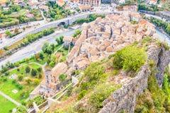 昂特勒沃,在法国南部 免版税库存图片