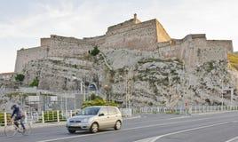 昂特雷卡斯托堡垒,马赛 库存图片