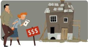 昂贵的住房 免版税图库摄影