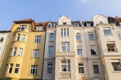 昂贵的城市apartements柏林 库存照片