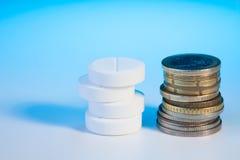 昂贵的药物 免版税库存图片