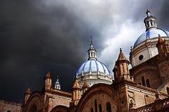 昆卡省厄瓜多尔新的大教堂 图库摄影