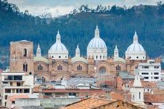 昆卡省,厄瓜多尔新的大教堂 免版税库存照片