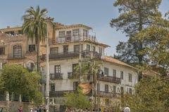 昆卡省,厄瓜多尔的历史的中心 库存图片