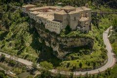 昆卡省,西班牙修道院  免版税库存照片