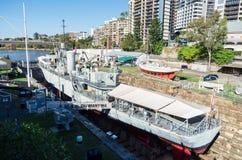 昆士兰海博物馆在布里斯班,澳大利亚 免版税库存图片