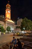 昆士兰澳大利亚国王乔治Square布里斯班- 库存图片