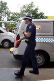 昆士兰警署(QPS) -澳大利亚 免版税图库摄影
