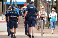 昆士兰警署(QPS) -澳大利亚 免版税库存图片
