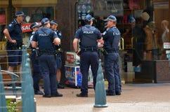 昆士兰警署(QPS) -澳大利亚 库存图片