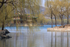 昆明湖 免版税库存照片