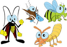 昆虫在家2 免版税库存照片