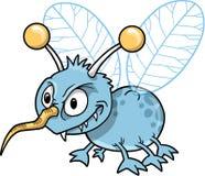 昆虫平均讨厌的向量 库存照片
