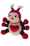 昆虫查出被充塞的玩具 免版税图库摄影