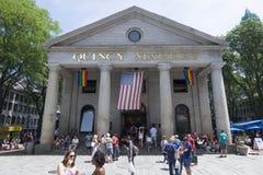 昆西市场在波士顿 库存照片