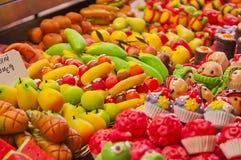 明亮和五颜六色的糖果 库存图片
