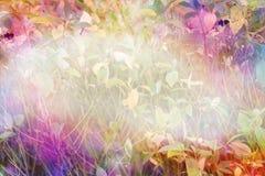 明亮和快乐的秋季背景 库存照片