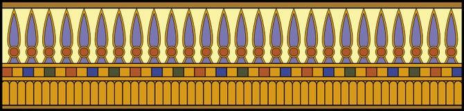 明亮埃及的装饰品 库存照片