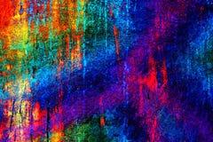 明亮的五颜六色的独特的抽象背景 免版税库存照片