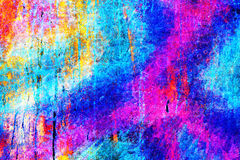 明亮的五颜六色的独特的抽象背景 库存图片