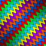 明亮的五颜六色的背景 向量例证