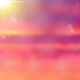 明亮的五颜六色的被弄脏的抽象背景 免版税库存图片