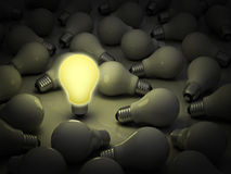 明亮的企业概念想法 库存图片