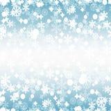 明亮的冬天无缝的样式 向量例证