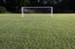 明亮的净足球 免版税库存图片