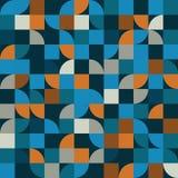 明亮的几何传染媒介背景,被摆正的抽象无缝的pa 图库摄影