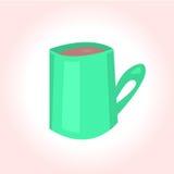 明亮的动画片杯子 免版税图库摄影
