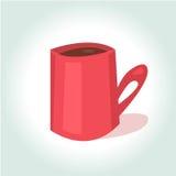 明亮的动画片杯子 免版税库存照片