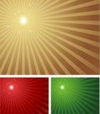 明亮的发光的星形 库存照片