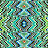 明亮的圈子荧光的抽象几何背景传染媒介例证 免版税库存照片