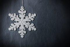 明亮的圣诞节设计雪花向量 免版税库存照片