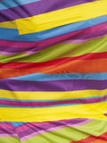 明亮的多彩多姿的布料 免版税库存照片