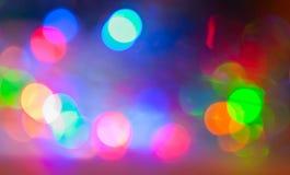 明亮的多彩多姿的强光 图库摄影