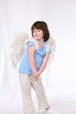 明亮的天使 免版税库存图片