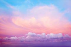 明亮的天空 图库摄影