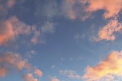 明亮的天空 库存照片